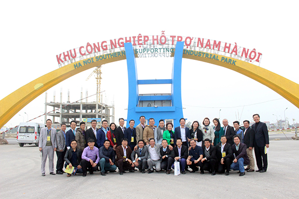 Hanssip_the first specialized supporting industrial zone in Ha Noi, Viet Nam