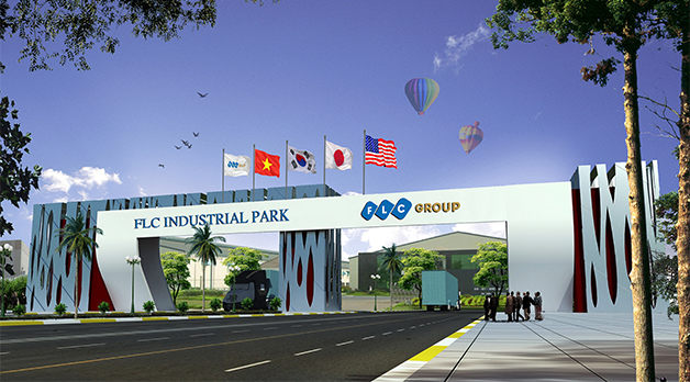FLC group is approved to invest 169ha industrial park in Vinh Phuc