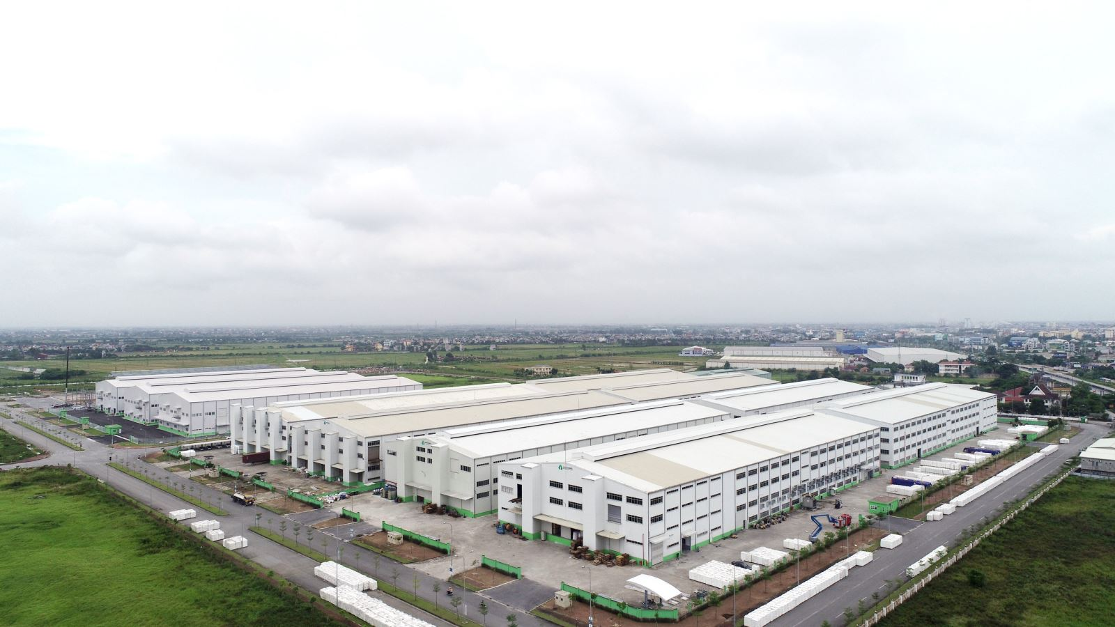 Overview of An Phat high-tech industrial zone, Hai Duong