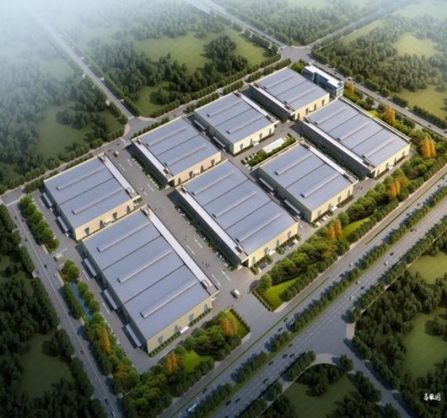 Overview of Thai Ha industrial park, Ha Nam province