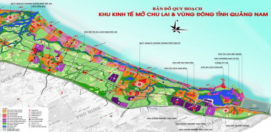 Overview of Tam Anh industrial park in Quang Nam province