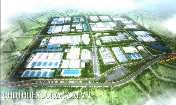 Overview of Bim Son A industrial park, Thanh Hoa