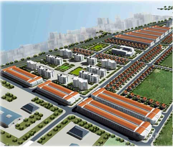 Overview of Phuc Son industrial park, Ninh Binh