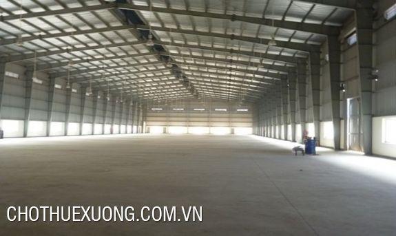 Cho thuê kho xưởng đẹp giá rẻ tại Thuận Thành, Bắc Ninh