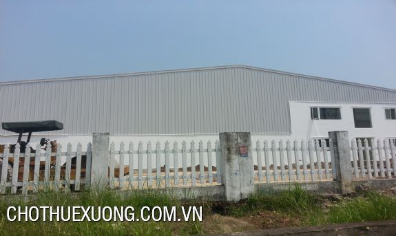 Industrial factory for lease in Hai Duong with the Best Prices from the Owner 1