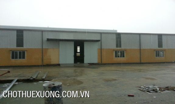 Factory lease in Hoai Duc near to Thang Long Boulevard 2