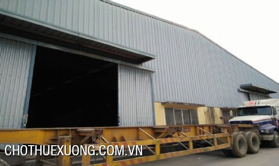 New workshop for lease the area of 5000sqm in Ha Noi 2