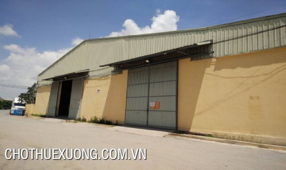 New workshop for lease the area of 5000sqm in Ha Noi 4