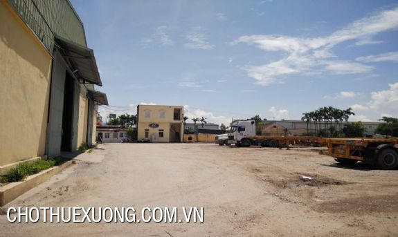 New workshop for lease the area of 5000sqm in Ha Noi 5