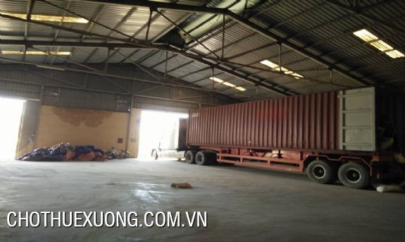 New workshop for lease the area of 5000sqm in Ha Noi 7