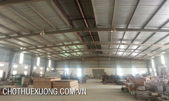 Factory for lease in Co Loa, Dong Anh with the 1200 sqm area 1
