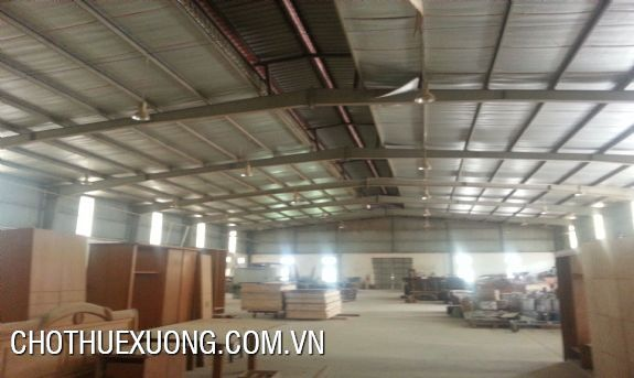 Factory for lease in Co Loa, Dong Anh with the 1200 sqm area 4