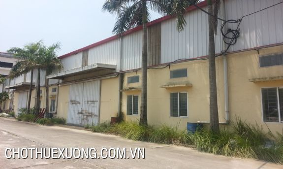 Factory for lease in Co Loa, Dong Anh with the 1200 sqm area 5