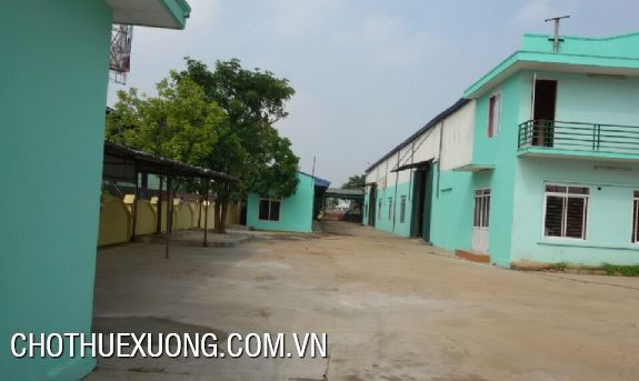 Factory for lease near the national road No. 5 in Hai Duong city 4
