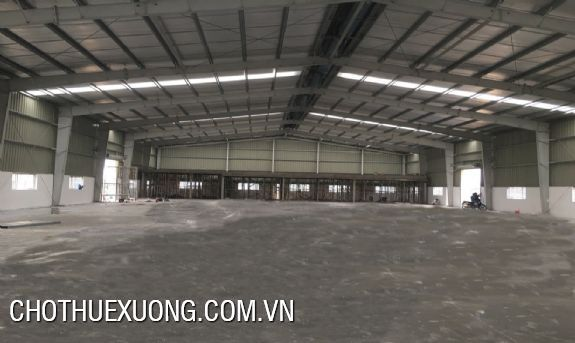 1500m2 factory for lease in Nguyen Khe industrial zone, Dong Anh, Hanoi 1