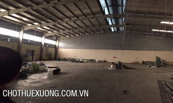 500m2 factory for rent in Phuc Tho, Ha Noi near Gach town 1