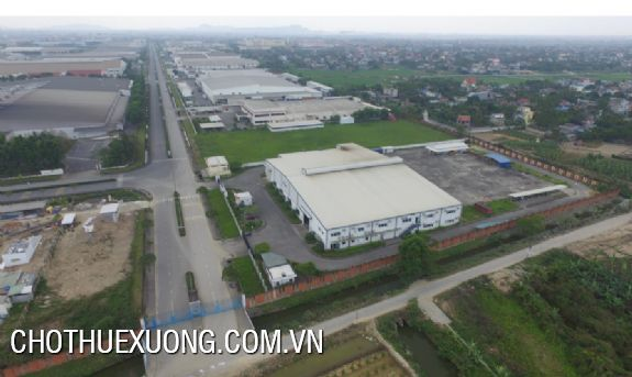 Industrial land and factory for sale in Nomura industrial zone, Hai Phong 6