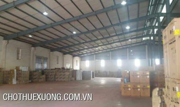 Factory for lease in Phu Minh industrial zone, Tu Liem, Ha Noi 1