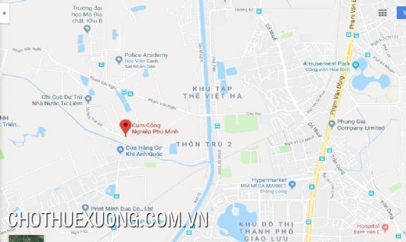 Factory for lease in Phu Minh industrial zone, Tu Liem, Ha Noi 2