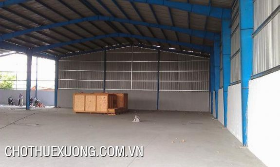 1.400m2 factory for lease in Phu Dien Tu Liem Hanoi 1