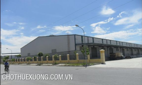 Factory for sale in Tien Phong industrial zone, Thai Binh