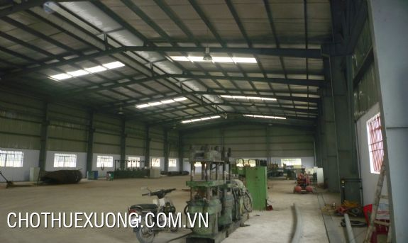 For lease factory of 3000sqm in Phuc Yen, Vinh Phuc