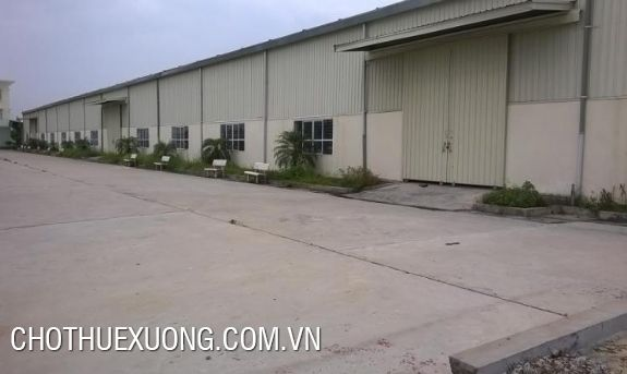 5000sqm factory for sale in Binh Xuyen industrial zone, Vinh Phuc