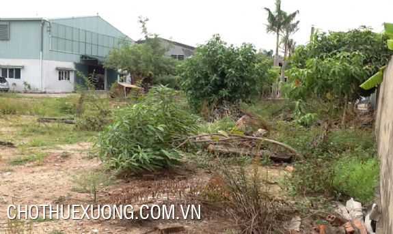 3700sqm factory/land for sale in Bac Giang city
