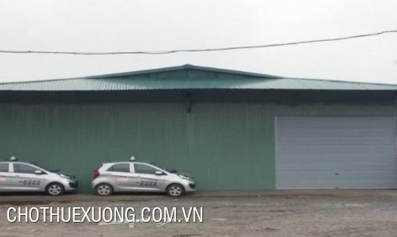 1000sqm warehouse for rent in Thanh Tri
