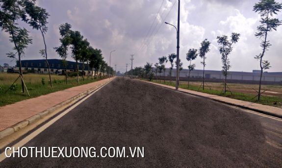 2000sqm industrial land for rent in Chuong My, Ha Noi