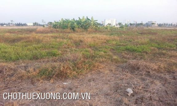 3500sqm land for rent in Bac Ninh industrial zone
