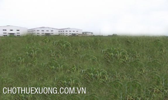3500sqm land for rent in Thuy Van industrial zone, Viet Tri, Phu Tho