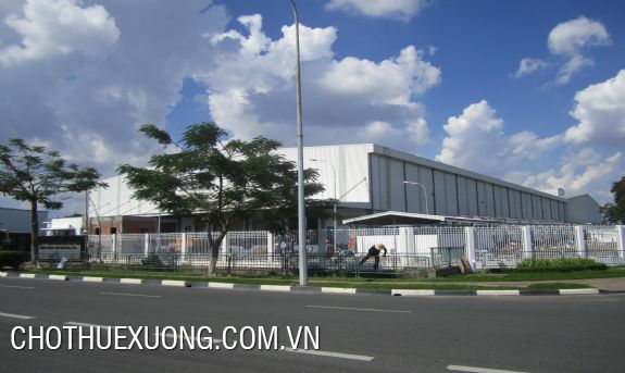 Factory for lease with the area of 2500sqm in Phu Tho