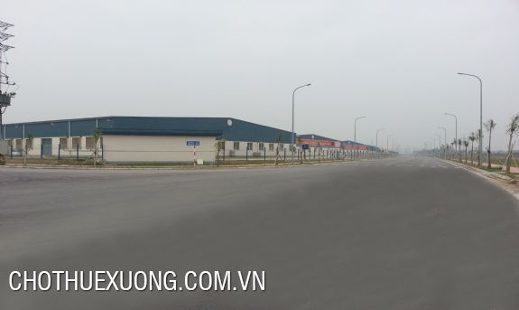 Factory for rent close to the national road 32, Tu Liem, Ha Noi