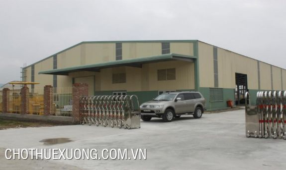 Factory for rent in Que Vo industrial cluster, Bac Ninh