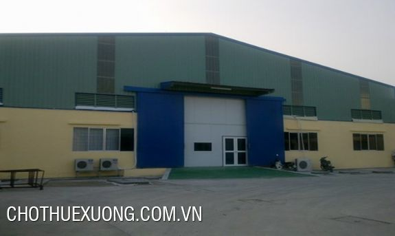 2000sqm factory for rent in Thuan Thanh, Bac Ninh