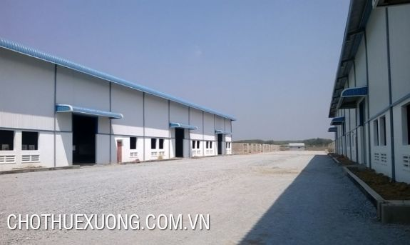10000sqm factory for lease in Cam Giang, Hai Duong