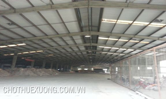 6000sqm factory for lease in Hai Phong with the best price