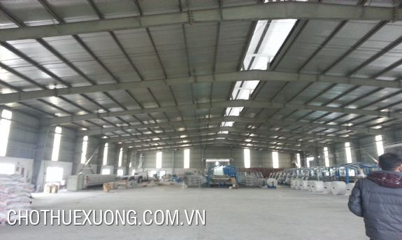 2400sqm factory for lease in An Duong, Hai Phong