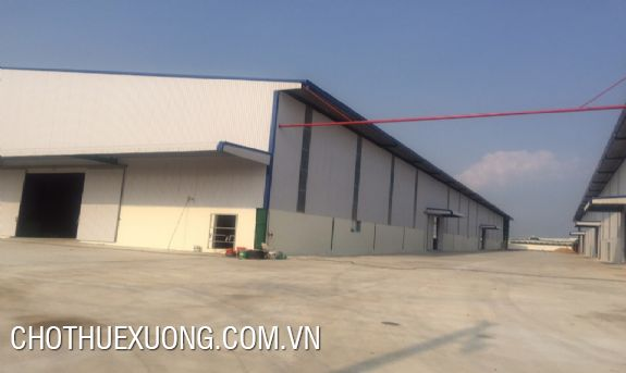 Factory for lease in Tan Truong industrial cluster, Hai Duong