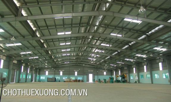 Factory for lease in Binh Xuyen, Vinh Phuc at the best price