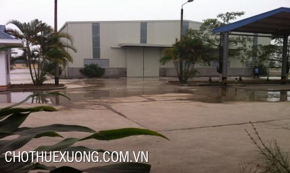 Three warehouses for lease in Ngoc Hoi, Thanh Tri, Ha Noi