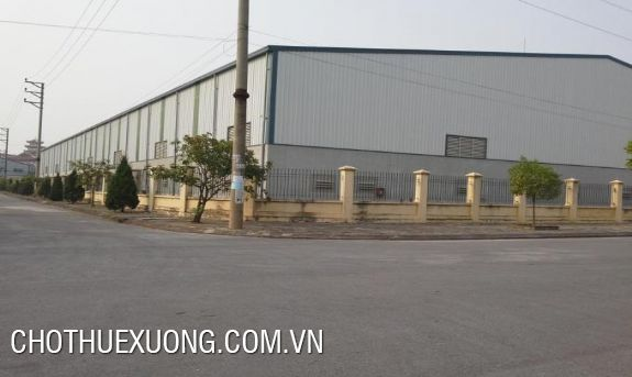 Warehouse for lease in Ngoc Hoi, Thanh Tri, Ha Noi