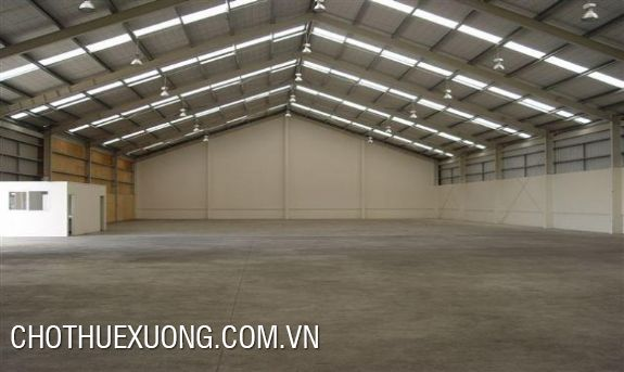 Nice warehouse for lease near Buou bridge, Ha Dong, Ha Noi