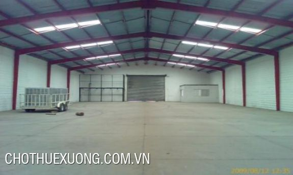 Warehouse for lease in Thanh Oai industrial cluster, Ha Noi
