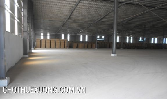 400sqm warehouse for lease in Van Dien, Thanh Tri