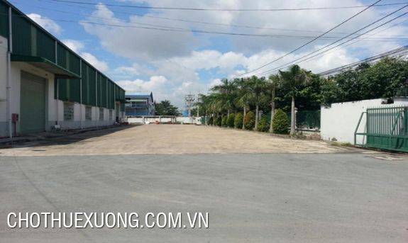 Warehouse for lease in Khai Quang industrial zone, Vinh Phuc
