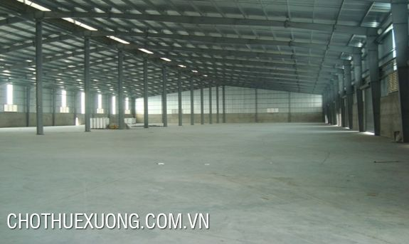 Warehouse for lease in Viet Tri city, Phu Tho