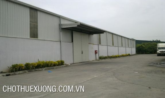 Warehouse for lease in Hung Ha, Thai Binh