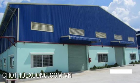 Nice factory for lease in Thai Binh city